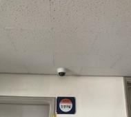 명지초등학교 CCTV 설치작업